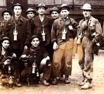 Mineurs italiens en France