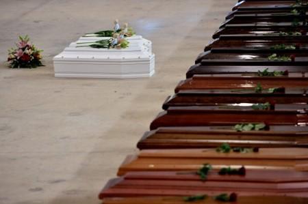 Commemorazione delle 368 vittime, naufragate a Lampedusa il 3 ottobre 2013