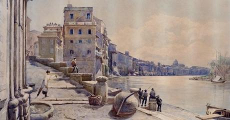 La Roma di fine Ottocento di Ettore Roesler Franz