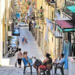 Le vieux quartier de Naples