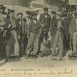 Des cireurs napolitains à Marseille carte-postale Paris © Musée national de l'histoire de l'immigration