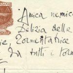 Lettera di D'Annunzio, collezione Zanetti