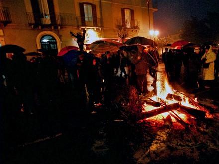 il fuoco di Sant'Antuono © flavio brunetti