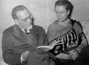 Emilio e Joyce Lussu