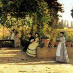 Lega Silvestro : La Pergola © Archives Alinari, Florence