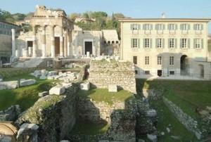 Il Capitolium dell'antica Brixia