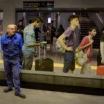 """Particolare dell'opera """"Stazione"""" di Michelangelo Pistoletto"""