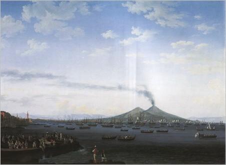 Filippo Hackert, Il porto di Napoli