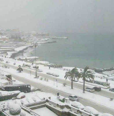 Messina innevata