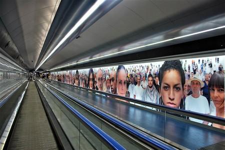 Stazione Montecalvario della nuova metro di Toscani