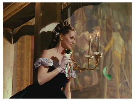 Alida Valli nel film Senso. Immagine Wikipédia.