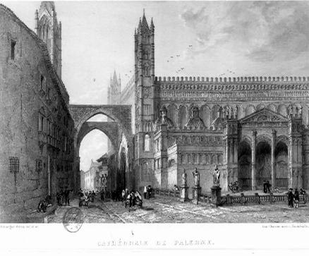 Cattedrale di Palermo (ill. Fratelli Rouargues)