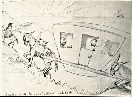 Un disegno di Paul – Protagonista infelice un viaggiatore inglese