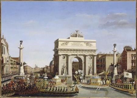 Napoleone a Venezia (nov-dec 1807), di Giuseppe Borsato