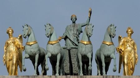 La quadriga di cavalli di San Marco proveniente da Costantinopoli