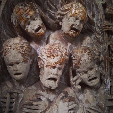 Nardo, détail du Duomo. Photo S. Horel.