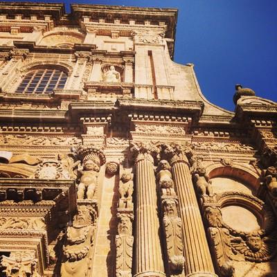 Nardo, façade baroque. Photo Stéphane Horel