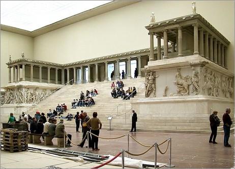 Altare di Pergamo, Pergamonmuseum, Berlino