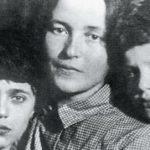 Giulia (Julka) con Delio e Giuliano