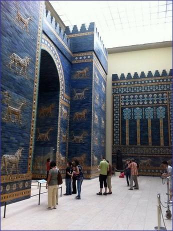 Porta di Isthar di Babilonia (VI sec. a.C.), Pergamonmuseum, Berlino