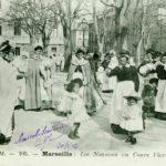 Nourrices italiennes à Marseille. Photo © Musée national de l'histoire de l'immigration à Paris. Exposition Ciao Italia!