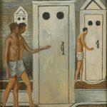 Giorgio De Chirico, Les bains mystérieux, 1934-1936