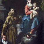 Antonio D'Enrico detto Tanzio da Varallo - Madonna col Bambino, san Francesco d'Assisi e donatore, 1611-1613 ca