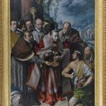 Antonio D'Enrico detto Tanzio da Varallo - San Carlo Borromeo comunica i malati di peste, 1616
