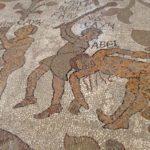 Détail de la mosaïque pavant le Duomo d'Otranto