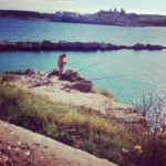 Otranto, pêcheur. Photo de Stéphane Horel