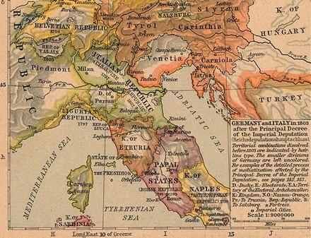 Il regno d'Etruria, 1803