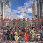 Al Louvre, Le nozze di Cana di Paolo Veronese portato via da Venezia da Napoleone