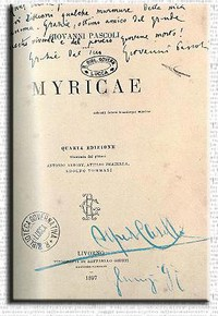 Pascoli, Myricae