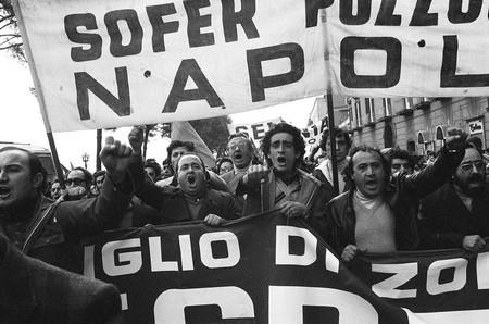 Napoli 1975 – Operai Italsider © Flavio Brunetti