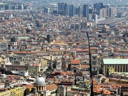 Napoli e il Centro Direzionale © Flavio Brunetti