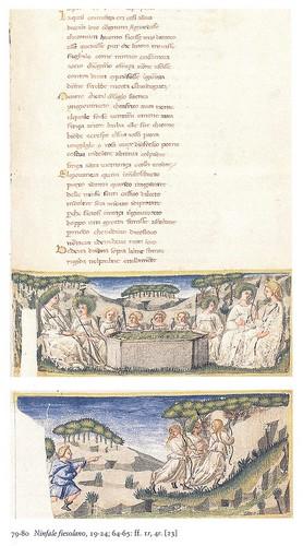 Miniature del codice Italiano IX.63 della Biblioteca Nazionale Marciana di Venezia
