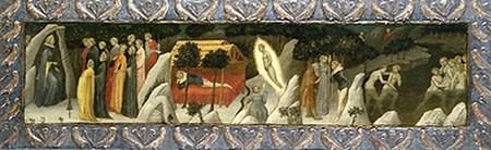 Beato Angelico, Scene dal 'Ninfale Fiesolano', Bowdoin College Museum of Art