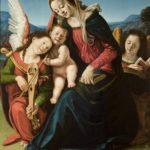 Piero di Cosimo, Madonna con il bambino e angeli musicanti