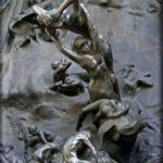 Je suis belle, di Rodin, particolare de la Porte de l'Enfer