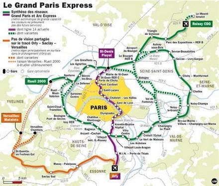 Il progetto gran Parigi.