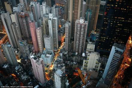 Hong Kong, foto Michael Wolf