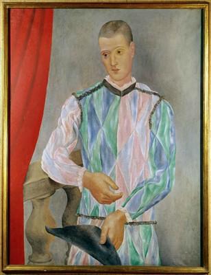 Pablo Picasso, Arlecchino (ritratto di Léonide Massine), 1917, Barcellona, Museu Picasso © Succession Picasso by SIAE 2017