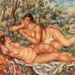 Le bagnanti, Pierre-Auguste Renoir, 1918-1919