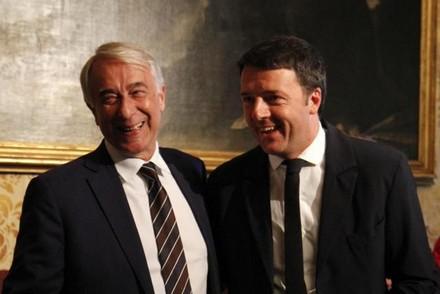 Pisapia e Renzi.