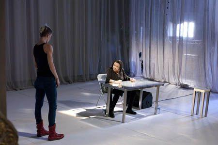 Silvia Calderoni, Judith Malina [Living Theatre NY]