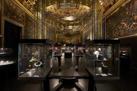 Allestimento a Palazzo Ducale