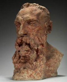 Camille Claudel, Buste de Rodin, 1888-89