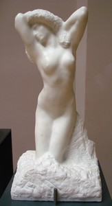 Anna, modella di La toletta di Venere di Rodin