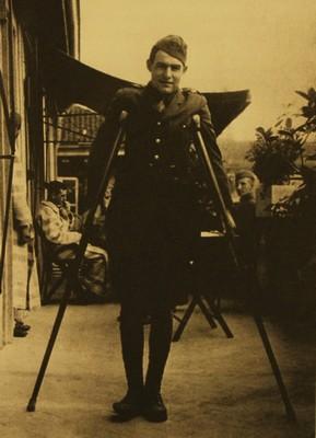 Milano, American Red Cross Hospital, Hemingway in convalescenza dopo la ferita rimediata a Fossalta di Piave l'8 luglio del 1918