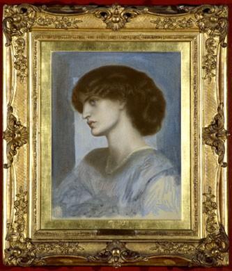 Dante Gabriel Rossetti, Ritratto di Jane Morris